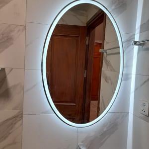 Gương led phòng tắm